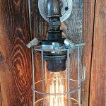 Lampa loft, kinkiet industrialny