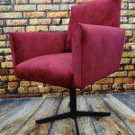Fotel obrotowy lata 60