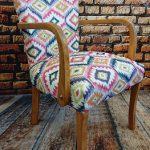 Fotel art deco MOZAIK – lata 50/60