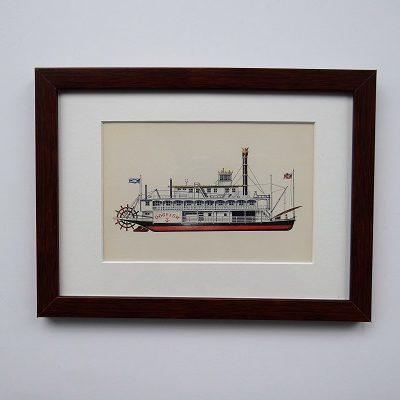 Oprawiona karta – historyczne statki #5