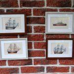 Oprawiona karta – historyczne statki #9