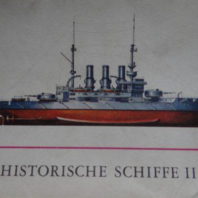 Oprawiona karta – historyczne statki #11