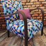 Fotel Art Deco – lata 60, fotel stylizowany