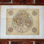 Mapa świata z 1869 r.