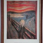 Plakat KRZYK – reprodukcja obrazu Edvarda Muncha