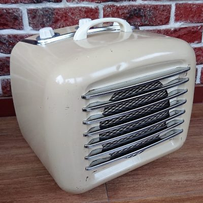 Farelka vintage – termowentylator Fakir z lat 50