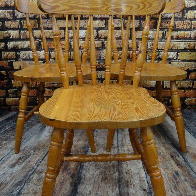 Krzesła dębowe, lata 60