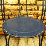 Krzesła metalowe, lata 60/70