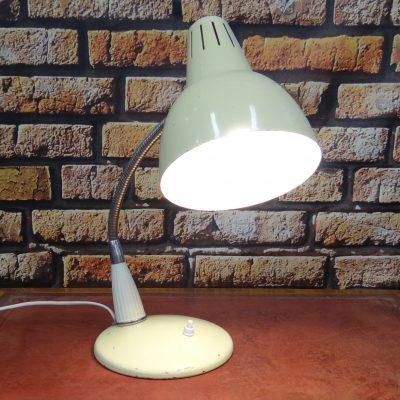 Lampa biurkowa PRL – lata 60, projekt A. Gałecki