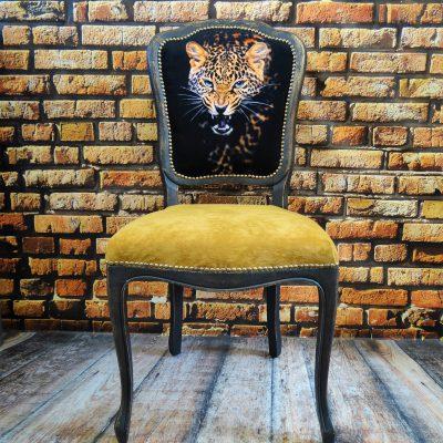 Krzesło ludwikowskie dekoracyjne