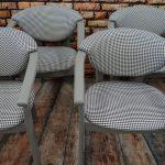 Fotele tapicerowane – komplet 4 sztuki