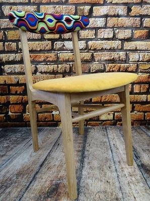 Krzesło PRL typ A-5908, lata 60 #1
