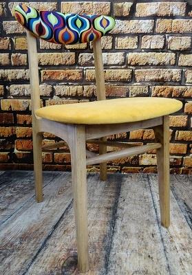 Krzesło PRL typ A-5908, lata 60 #2