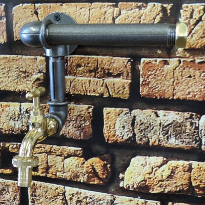 Uchwyt loft na papier toaletowy – kranik
